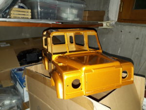 Chassis Homemade sur Defender 90 20180210_202322-300x225