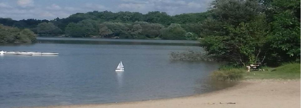 Mon Voilier au lac de Draveil